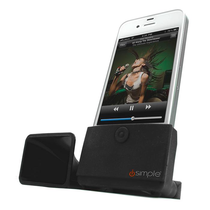 dockingstation megaphone lautsprecher iphone 3gs 4s ebay. Black Bedroom Furniture Sets. Home Design Ideas
