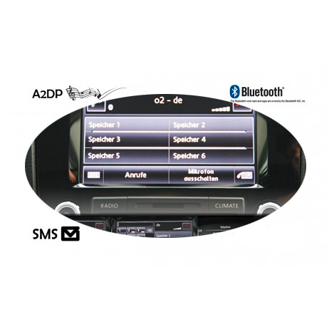 iphone samsung smartphone bluetooth modul f r vw touareg. Black Bedroom Furniture Sets. Home Design Ideas